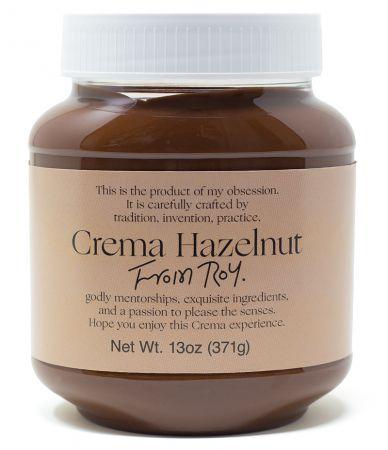 Hazelnut Crema (45% hazelnuts)